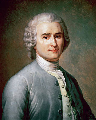 Rousseau, Jean-jacques (geneva, 1712 - Poster by Prisma Archivo