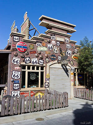 Route 66 - Cars Land - Disneyland - California Adventure Poster