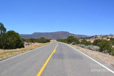 Poster featuring the photograph Route 66 In New Mexico by Utopia Concepts