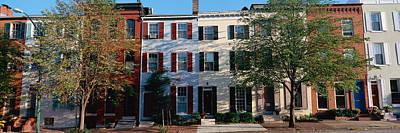 Row Homes, Philadelphia Poster