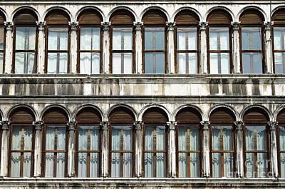 Row Of Windows Poster by Sami Sarkis