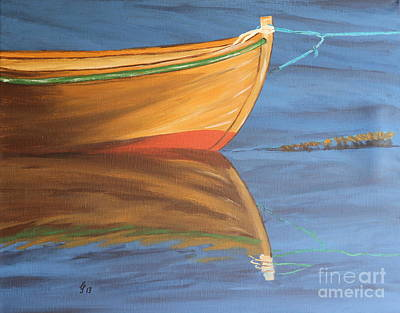 Rowboat Poster by Christiane Schulze Art And Photography