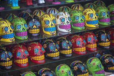 Rows Of Skulls Poster