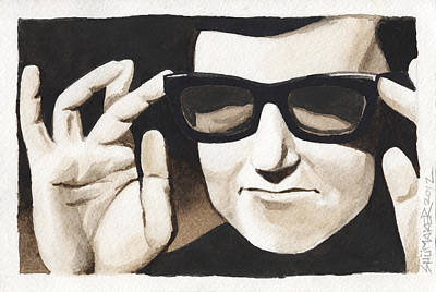 Roy Orbison Poster by David Shumate