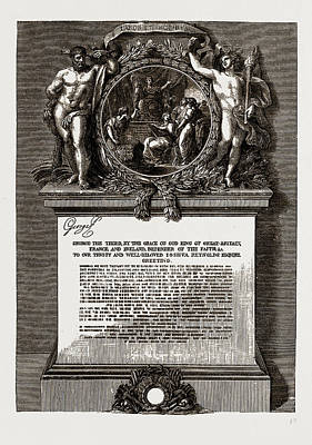 Royal Academy Diploma Of Sir Joshua Reynolds Poster