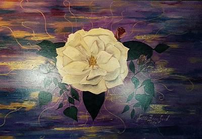 Royal Majestic Magnolia Poster by Joetta Beauford