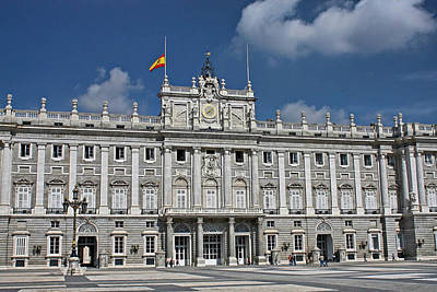 Poster featuring the photograph Royal Palace Of Madrid by Farol Tomson