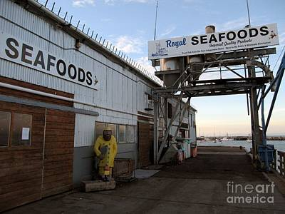 Poster featuring the photograph Royal Seafoods Monterey by James B Toy