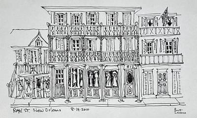 Royal Street, French Quarter, New Poster