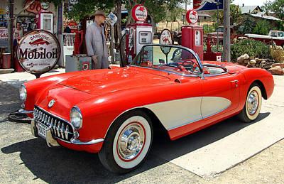 Rt. 66 Corvette Poster