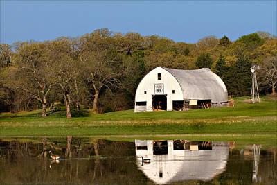 Rt 66 Hay Farm Oklahoma Poster