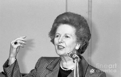 Rt.hon. Margaret Thatcher Poster