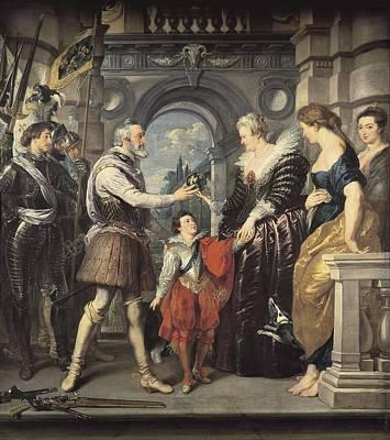 Rubens, Peter Paul 1577-1640. Henri Iv Poster
