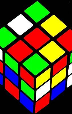Rubik's Phone Poster by Benjamin Yeager
