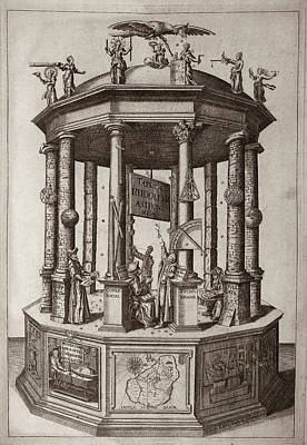 'rudolphine Tables' (1627) Poster by Library Of Congress