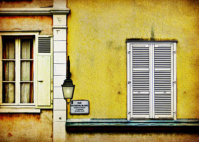 Rue Du Cheval Blanc Poster