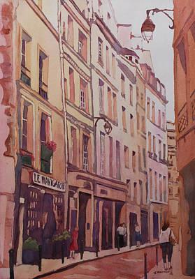 Rue Galande Poster by Jenny Armitage