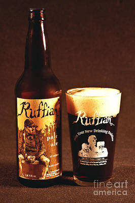 Ruffian Ale Poster by Anthony Sacco