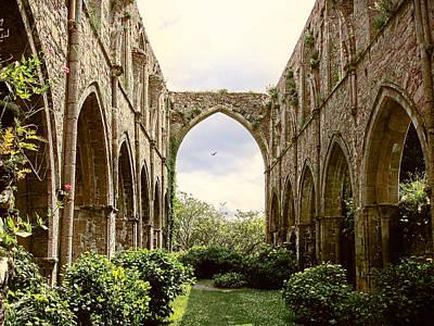 Ruins Abbaye De Beauport Paimpol Bretagne Poster