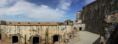 Ruins Of Castillo San Felipe Del Morro Poster