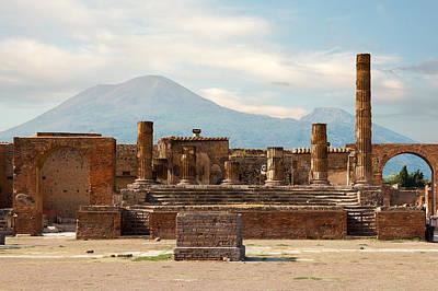 Ruins Of Pompeii Poster