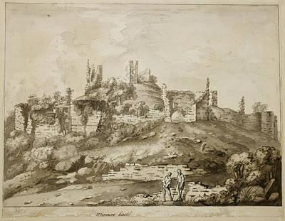 Ruins Of Wigmore Castle Poster