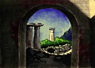 Ruins Poster by Salman Ravish