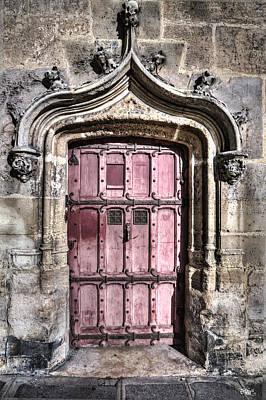 Ruins With Red Door Poster