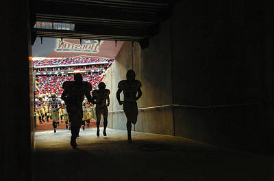 Running Into The Tunnel Poster