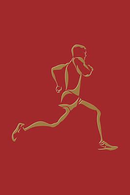 Running Runner10 Poster by Joe Hamilton