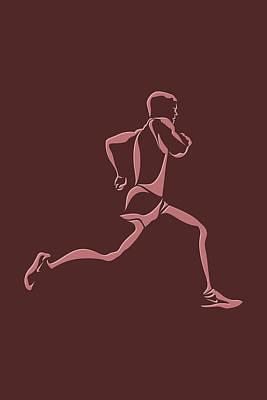 Running Runner11 Poster by Joe Hamilton