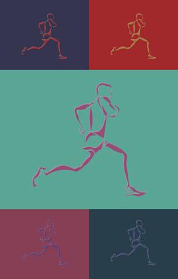 Running Runner3 Poster by Joe Hamilton