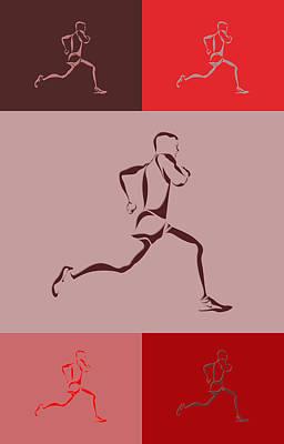Running Runner4 Poster by Joe Hamilton
