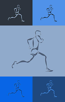 Running Runner5 Poster by Joe Hamilton