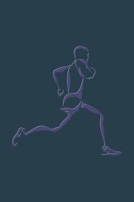 Running Runner6 Poster by Joe Hamilton