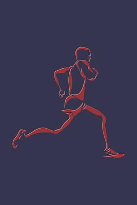 Running Runner7 Poster by Joe Hamilton