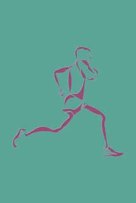 Running Runner9 Poster by Joe Hamilton