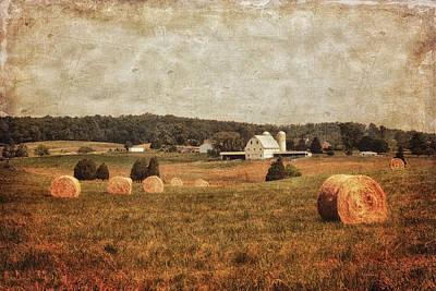 Rural America Poster by Kim Hojnacki