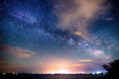 Rural Evening Sky  Poster