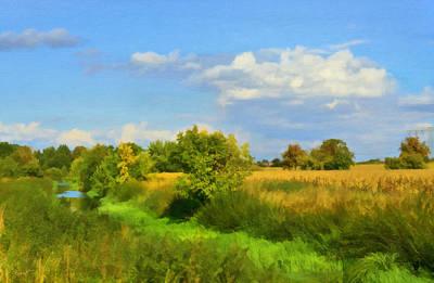 Rural Landscape Poster by Gynt