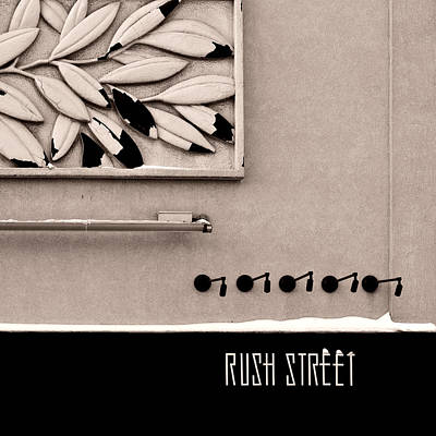 Poster featuring the photograph Rush Street by James Howe