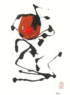 Rushiasurubi No Kuchibiru Poster by Roberto Prusso