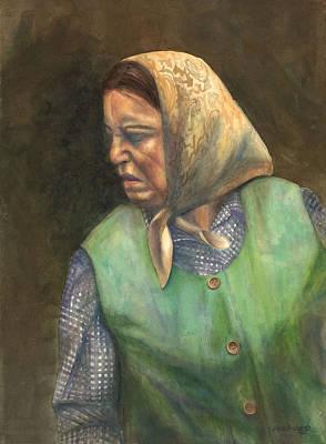 Russian Peasant Poster by Sara Srubar