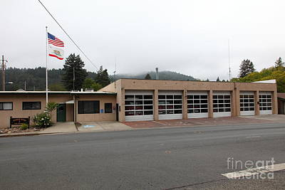 Russian River Fire District 1 In Guerneville California 5d25917 Poster by Wingsdomain Art and Photography