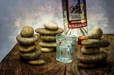 Russian Zen Poster by Alexander Senin