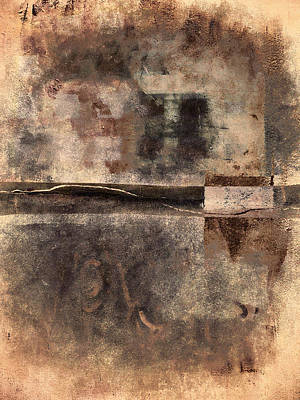 Rust And Walls No. 2 Poster by Carol Leigh