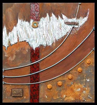 Rust Art 04 Poster by Gertrude Scheffler