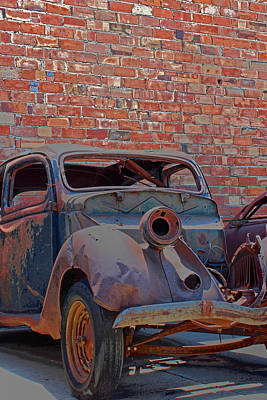 Poster featuring the photograph Rust In Goodland by Lynn Sprowl
