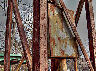 Rust Poster by MJ Olsen
