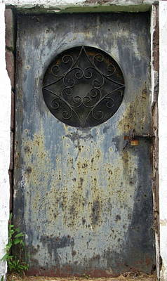Poster featuring the photograph Rusted Door by Melissa Stoudt